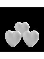 Lot de 3 Coeurs - 8/11 cm-Objets 3D
