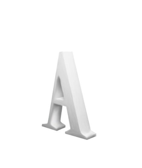 Lettre M - 25 cm-Formes originales