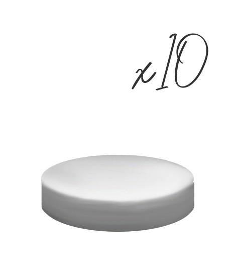 Lot de 10 Socles Ronds - ⌀15/20/25 cm-Socles et formes