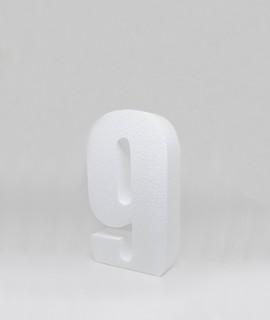 Chiffre M - 25 cm-Chiffres & Lettres