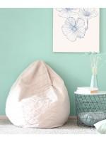 Green 300 - Sac de 300 Litres de billes de Polystyrène Recyclé pour Poufs-Billes Polystyrène