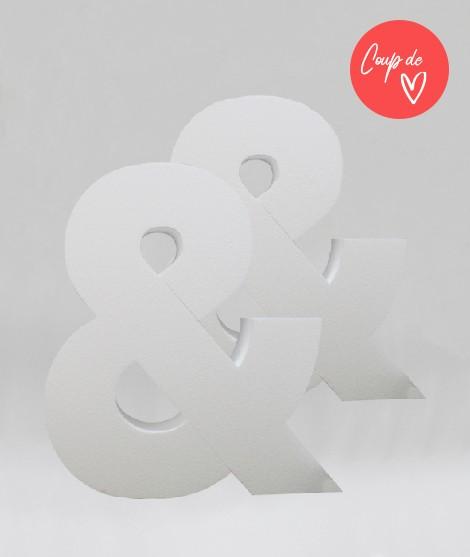 Lot de 2 Lettres Géantes XXL - 80 cm-Chiffres & Lettres